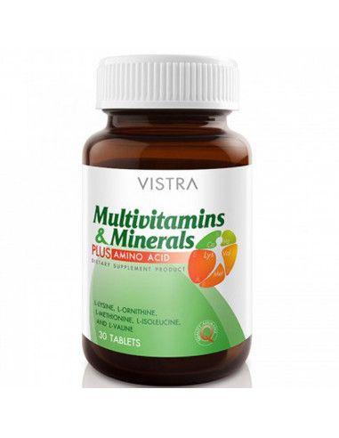 VISTRA Multivitamins & Minerals PLUS AMINO