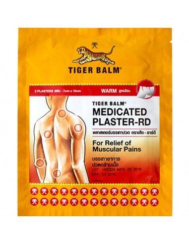 Тигровый пластырь горячий Tiger Balm