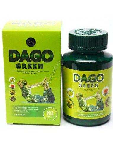 детокс и похудение таблетки SN Dago green
