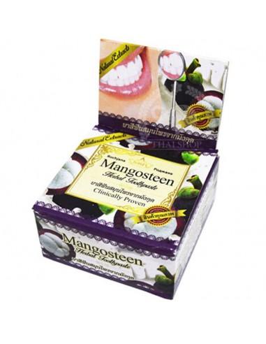 Тайская зубная паста с мангостином Rochjana Mangosteen herbal toothpaste