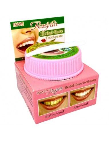 Розовая зубная паста ISME Herbal Clove Toothpaste