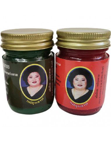 набор тайских бальзамов Кулаб: красный и зеленый